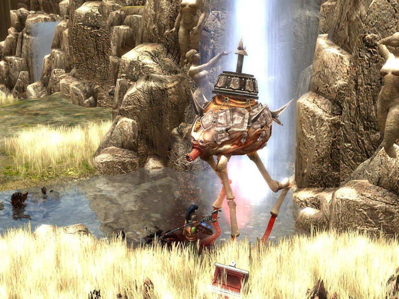 Strani macchinari in Immortal Throne, non saranno facilissimi da eliminare ma nemmeno impossibili
