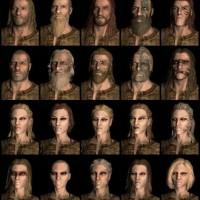 Skyrim, Bethesda diffonde i modelli preimpostati dei volti dei personaggi