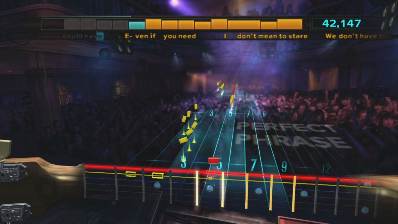 rocksmith in game A