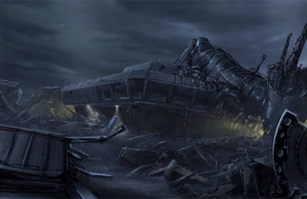 aliens colonial marines Hadley's Hope concept