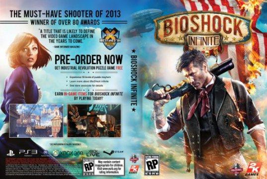 bioshock infinite cover complete