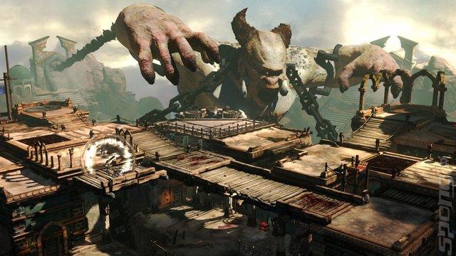 god of war ascension in game