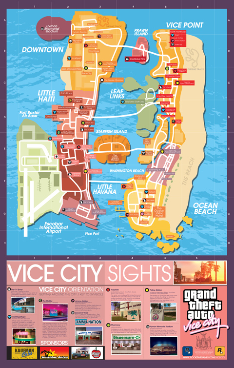 GTA Trology maps