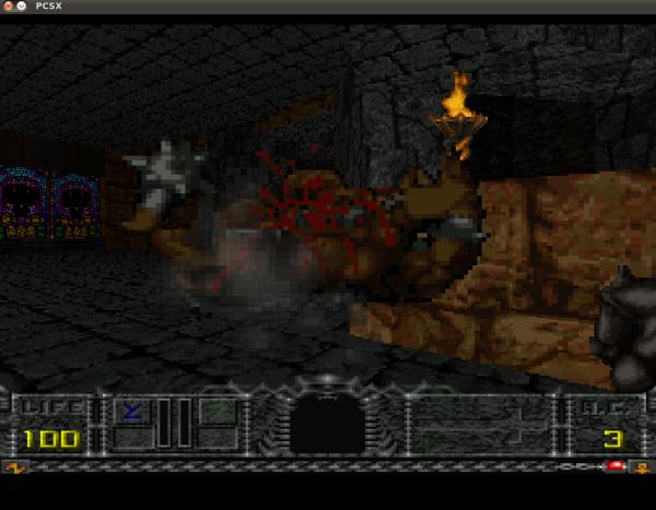 Hexen Beyond Heretic, uno dei 300 titoli presenti e giocabili via browser sul RGB Classic