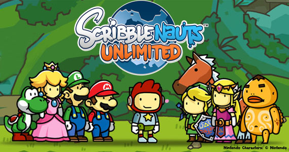 Mario-Zelda-Scribblenauts-Unlimited