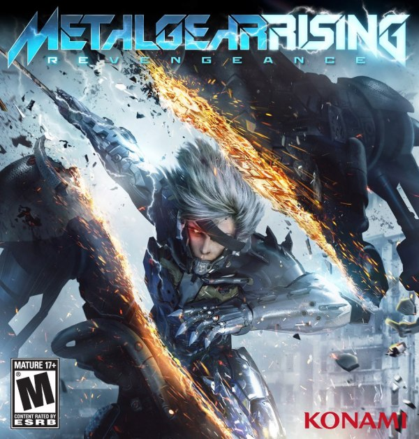 Metal Gear Solid Rising revengeance cover americana