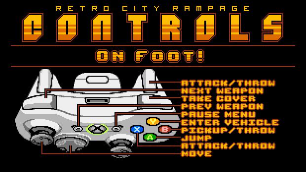 RetroCityRampage Controller