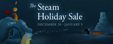 steam holyday sale header
